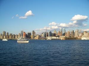 NYCskyline2boat