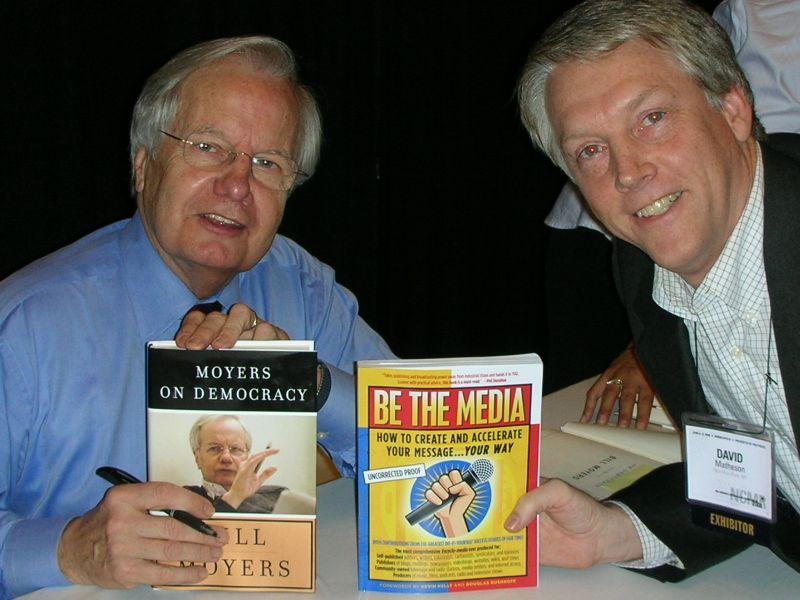 Bill Moyers David Mathison Be The Media NCMR 2008